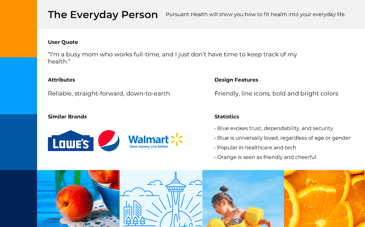 Branding representing the everyday person
